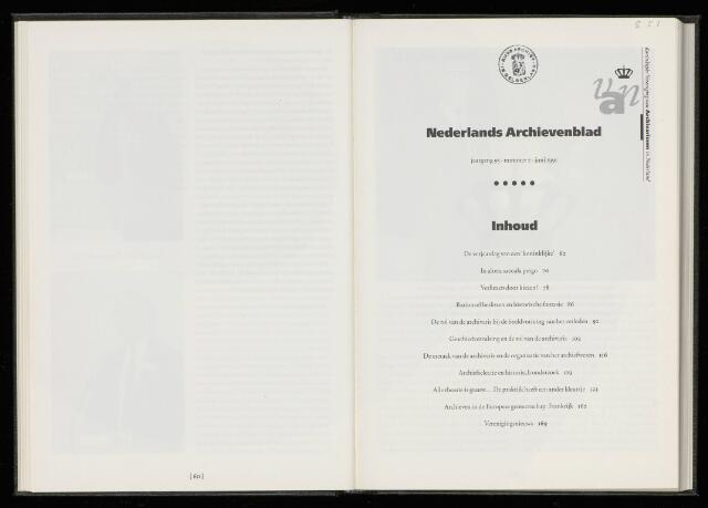 Nederlandsch Archievenblad 1991-06-01