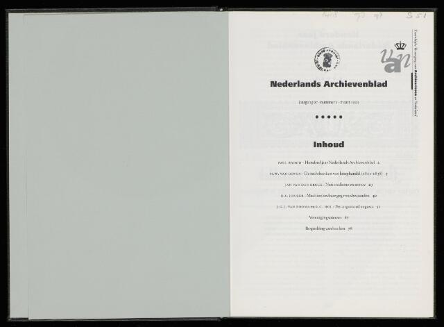 Nederlandsch Archievenblad 1993-03-01