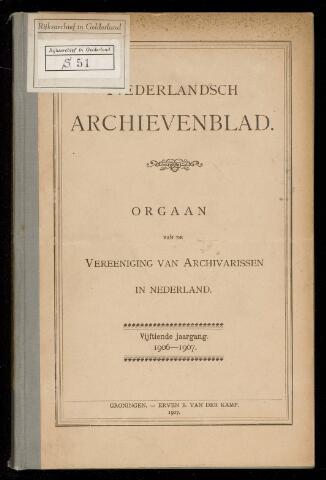 Nederlandsch Archievenblad 1906-09-01