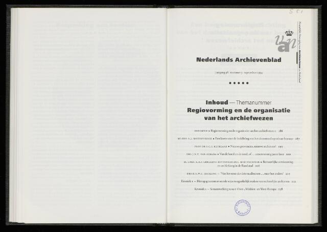 Nederlandsch Archievenblad 1994-09-01