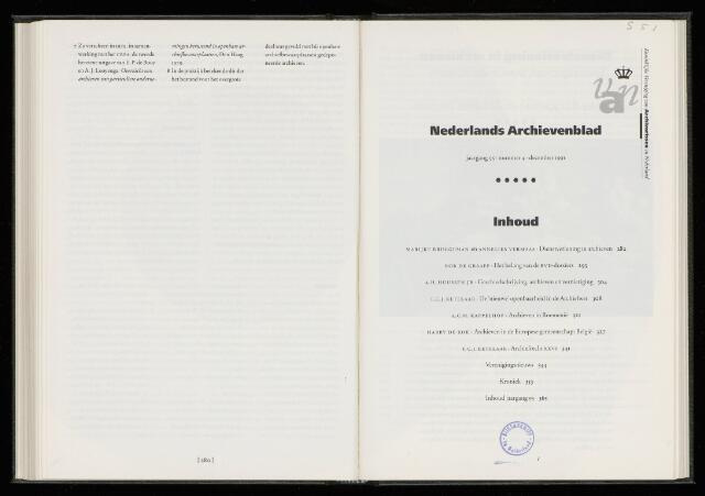 Nederlandsch Archievenblad 1991-12-01