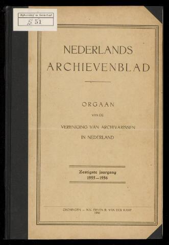 Nederlandsch Archievenblad 1956-01-01