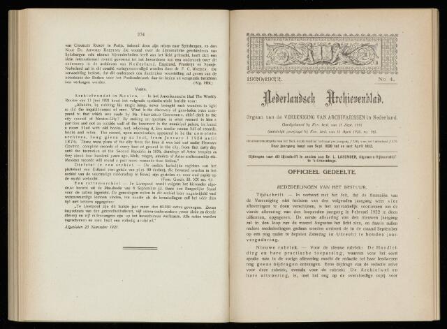 Nederlandsch Archievenblad 1922