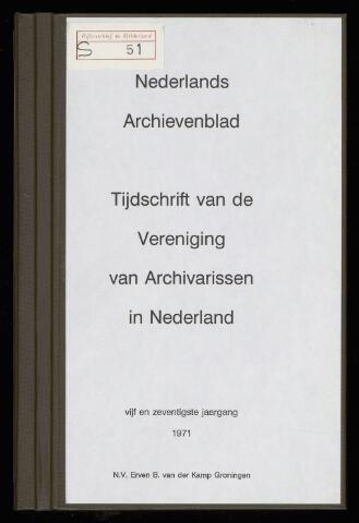 Nederlandsch Archievenblad 1971