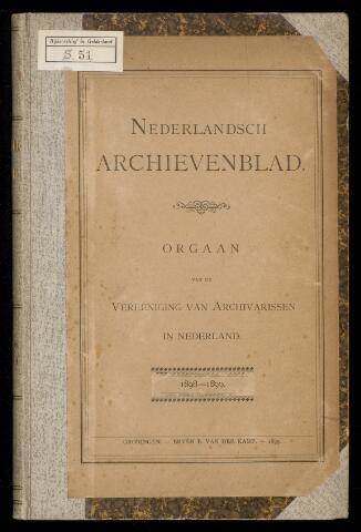 Nederlandsch Archievenblad 1898-09-01