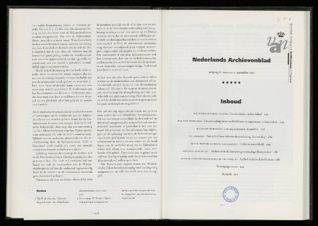 Nederlandsch Archievenblad 1992-09-01