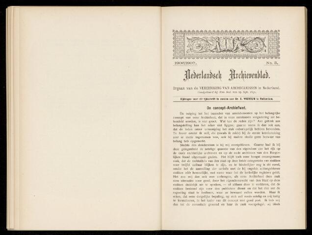 Nederlandsch Archievenblad 1906-09-03