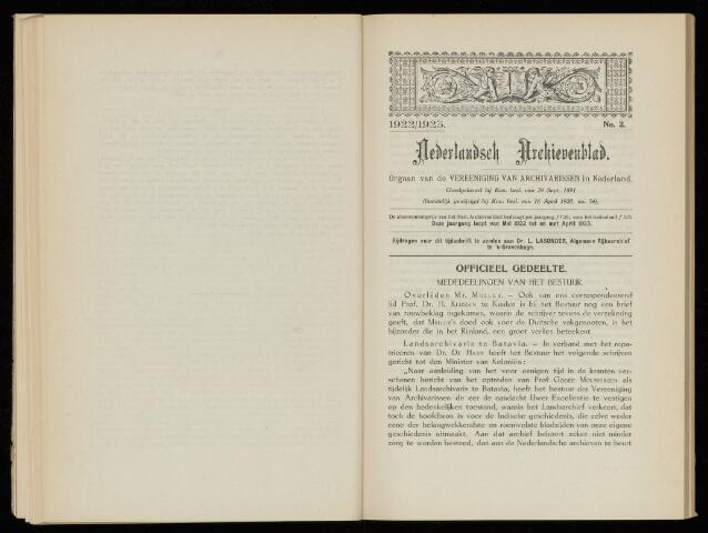 Nederlandsch Archievenblad 1923-04-01