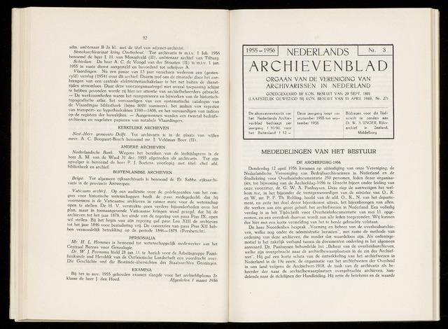Nederlandsch Archievenblad 1956-06-01