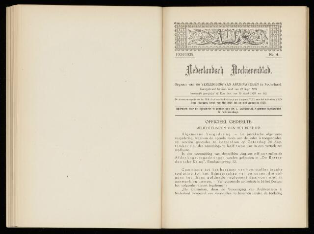 Nederlandsch Archievenblad 1925-10-01