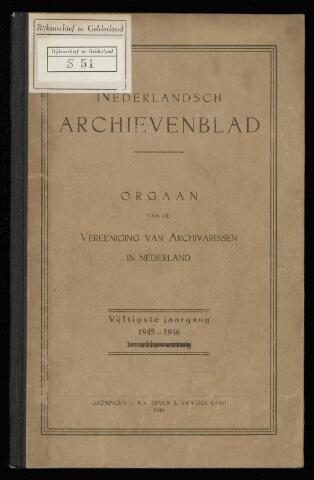 Nederlandsch Archievenblad 1945-09-01