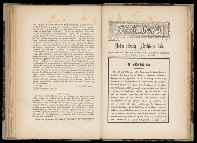Nederlandsch Archievenblad 1894-09-03