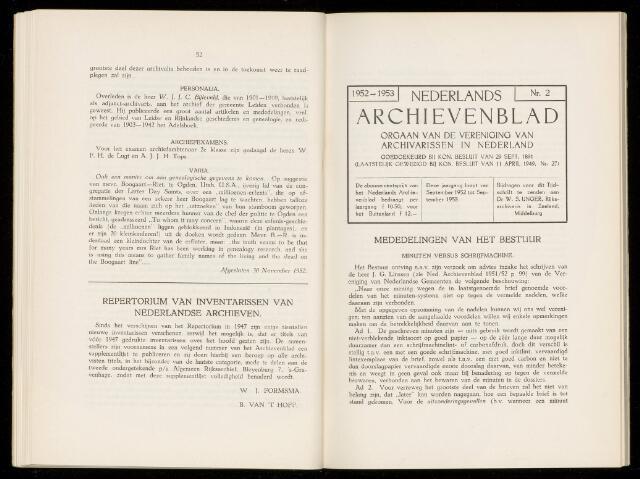 Nederlandsch Archievenblad 1953