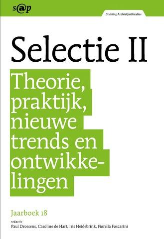 Jaarboeken Stichting Archiefpublicaties 2018