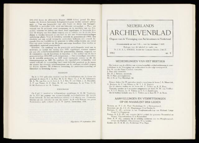 Nederlandsch Archievenblad 1962