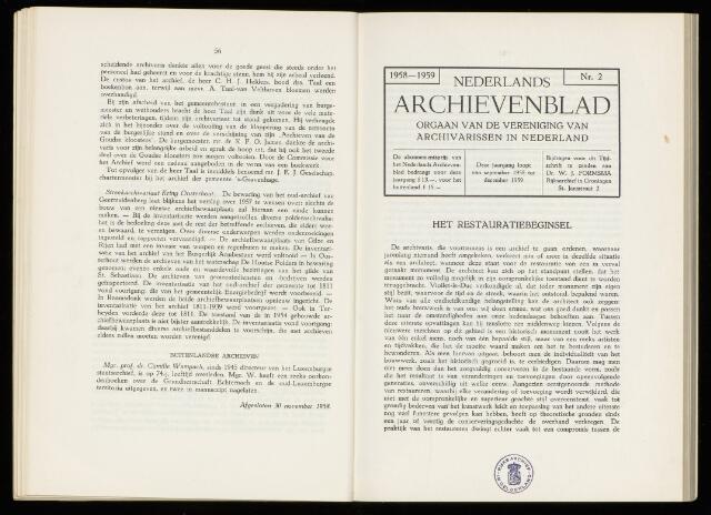 Nederlandsch Archievenblad 1959