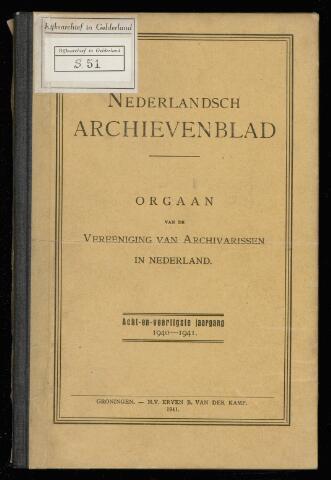 Nederlandsch Archievenblad 1940-12-01