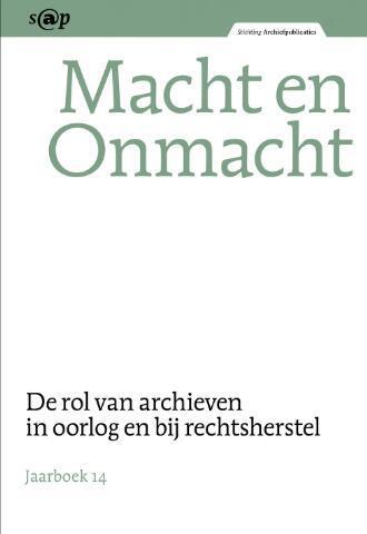 Jaarboeken Stichting Archiefpublicaties 2014