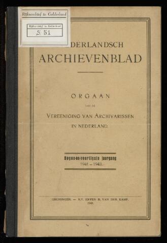 Nederlandsch Archievenblad 1942
