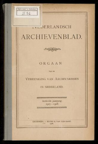 Nederlandsch Archievenblad 1907