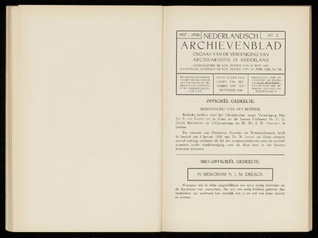 Nederlandsch Archievenblad 1938