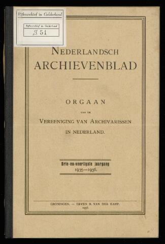 Nederlandsch Archievenblad 1936-03-01