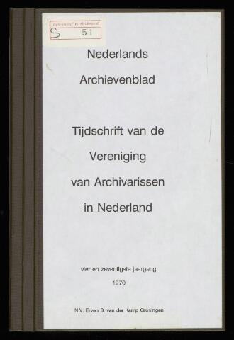 Nederlandsch Archievenblad 1970