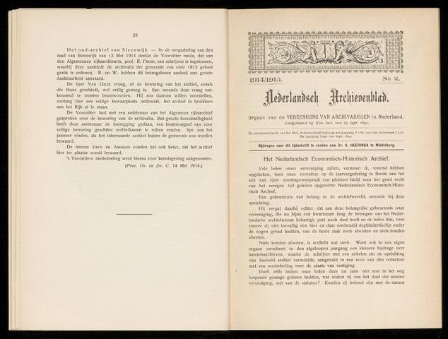 Nederlandsch Archievenblad 1914-09-02