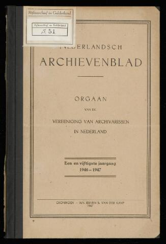 Nederlandsch Archievenblad 1947