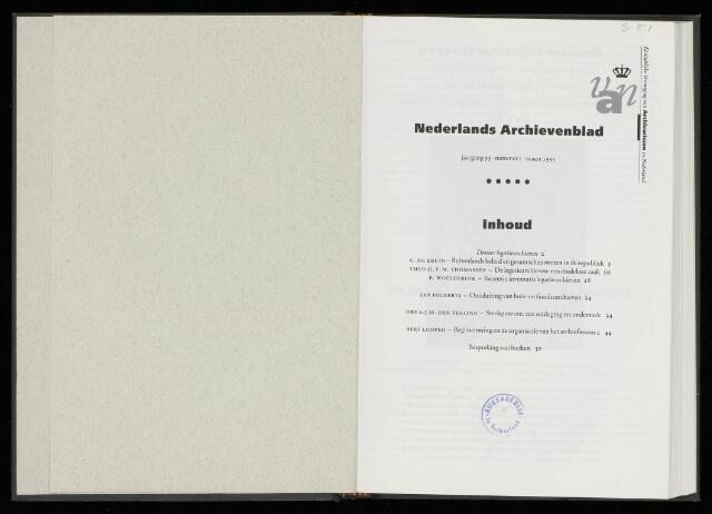 Nederlandsch Archievenblad 1995