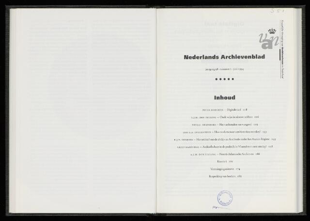 Nederlandsch Archievenblad 1994-06-01