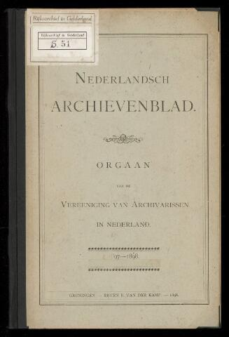 Nederlandsch Archievenblad 1897-06-20