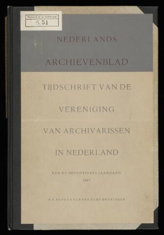 Nederlandsch Archievenblad 1967