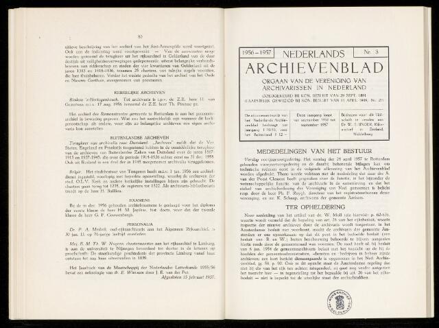 Nederlandsch Archievenblad 1957-06-01