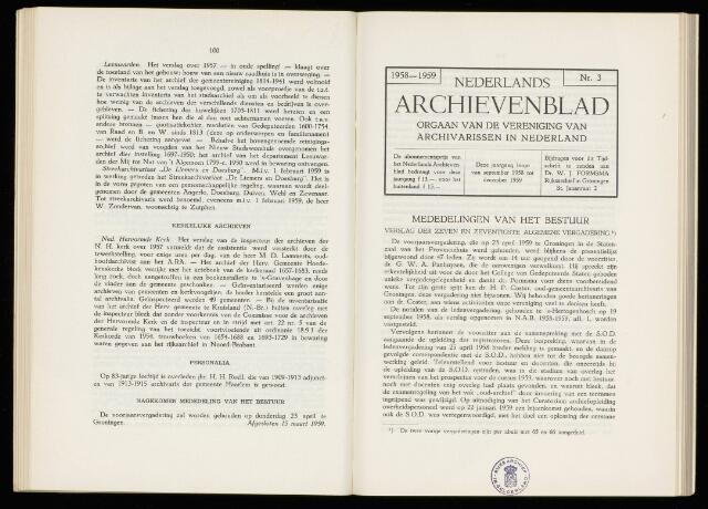Nederlandsch Archievenblad 1959-07-01