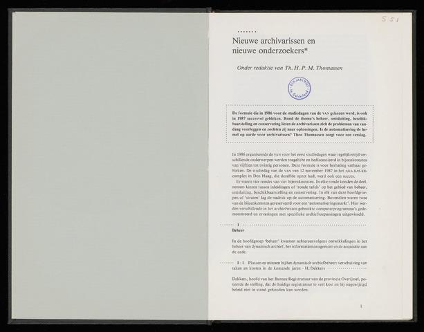 Nederlandsch Archievenblad 1988-04-01