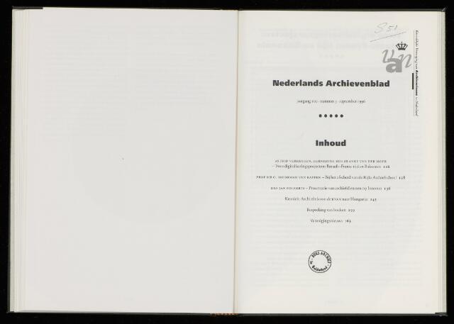 Nederlandsch Archievenblad 1996-09-01