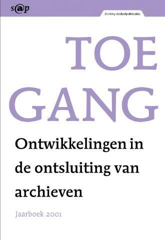 Jaarboeken Stichting Archiefpublicaties 2001