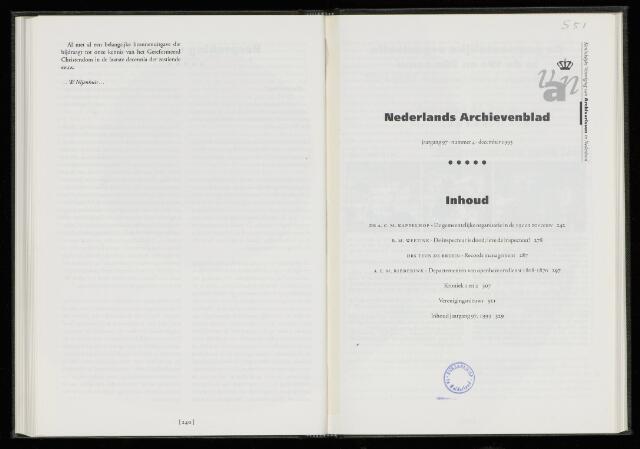 Nederlandsch Archievenblad 1993-12-01