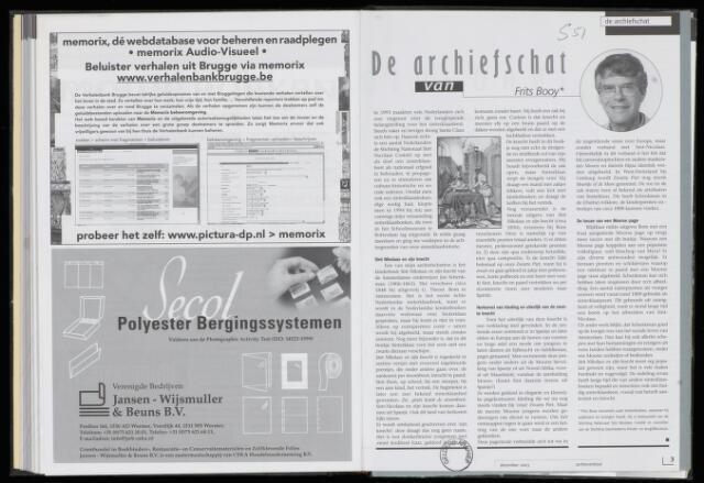 Archievenblad 2003-12-01