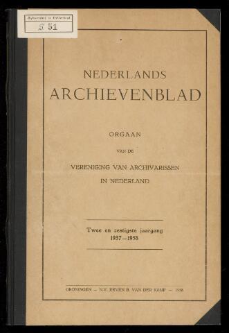 Nederlandsch Archievenblad 1957-10-01