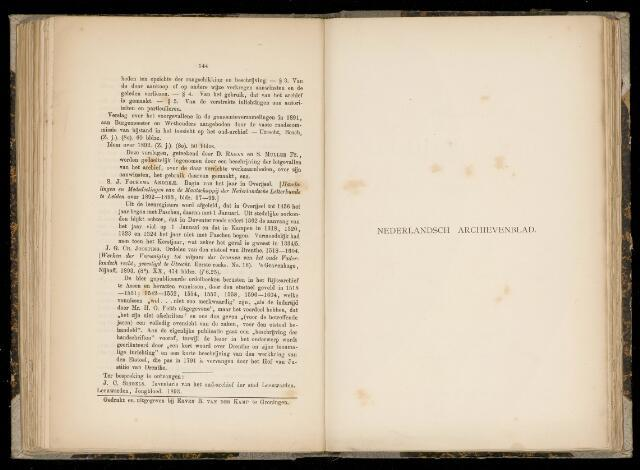 Nederlandsch Archievenblad 1894