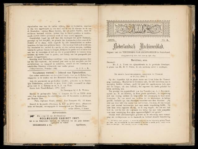 Nederlandsch Archievenblad 1892-09-01