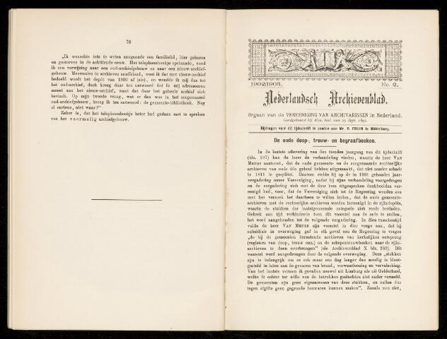 Nederlandsch Archievenblad 1903