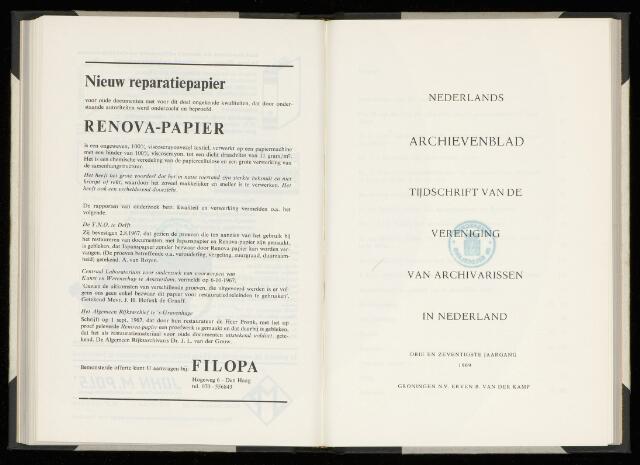 Nederlandsch Archievenblad 1969-04-01