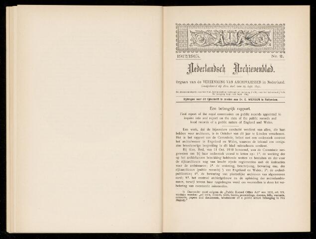 Nederlandsch Archievenblad 1912-09-02