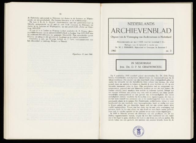Nederlandsch Archievenblad 1960-10-01
