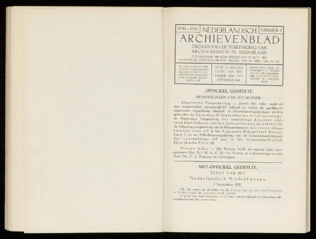 Nederlandsch Archievenblad 1931-10-01