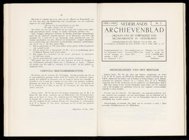 Nederlandsch Archievenblad 1954-04-01