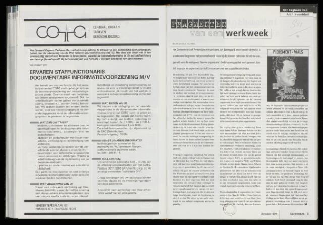 Archievenblad 1999-12-01